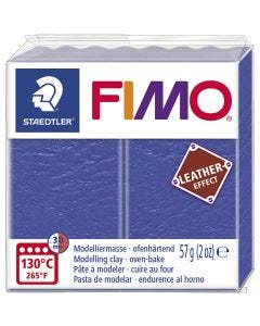 FIMO® Leather Effect , indigo (309), 57 g/ 1 pack