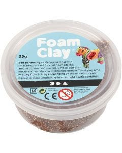 Foam Clay®, brown, 35 g/ 1 tub
