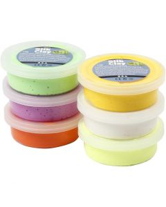 Silk Clay®, spring colours, 6x14 g/ 1 pack