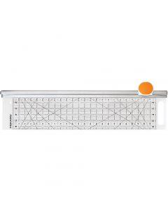 Combo Rotary Cutter & Ruler, L: 62 cm, W: 15,5 cm, 1 pc