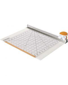 Combo Rotary Cutter & Ruler, L: 31 cm, 1 pc