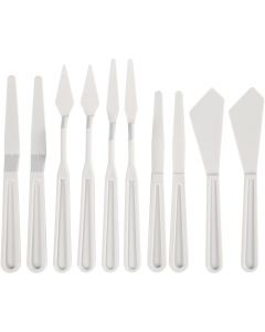 Palette Knives, W: 13-33 mm, 10 pc/ 1 pack