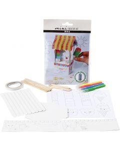 Creative Mini Kit, Milk carton ice cream parlour, 1 set