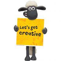 Shaun the Sheep Sign, 1 pc
