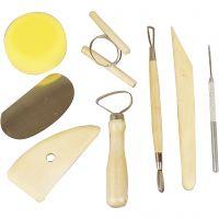 Pottery Tool Kit, 8 pc/ 1 pack