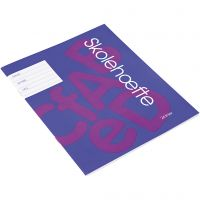 School exercise book , A5, size 14,8x21 cm, 200 pc/ 1 pack