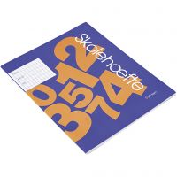 School exercise book , A5, size 14,8x21 cm, 64 , 200 pc/ 1 pack