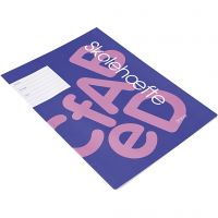 School exercise book , A4, size 21x29,7 cm, 64 , 100 pc/ 1 pack