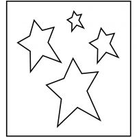 Steel Ruled Die, star, size 14x15,25 cm, thickness 15 mm, 1 pc