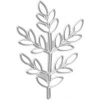 Die Cut, twigs, size 4,4x6,5 cm, 1 pc