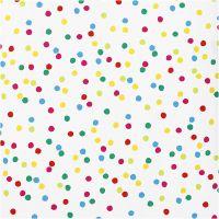 Gift wrap, Dots, W: 57 cm, 80 g, 2 m/ 1 roll