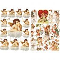 Vintage Die-Cuts, Angels, 16,5x23,5 cm, 2 sheet/ 1 pack