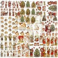 Vintage Die-Cuts, christmas, 16,5x23,5 cm, 30 sheet/ 1 pack