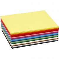 Creative Card, A6, 105x148 mm, 180 g, assorted colours, 300 ass sheets/ 1 pack