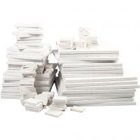 Paint Canvas Selection, depth 2 cm, white, 300 pc/ 1 pack