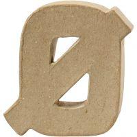 Letter, Ø, H: 10 cm, thickness 2 cm, 1 pc