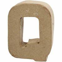 Letter, Q, H: 10 cm, W: 7,8 cm, thickness 1,7 cm, 1 pc