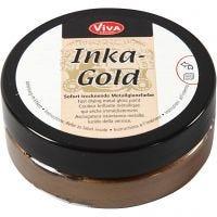 Inka Gold, brown gold, 50 ml/ 1 tub
