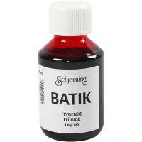 Batik dye, pink, 100 ml/ 1 bottle