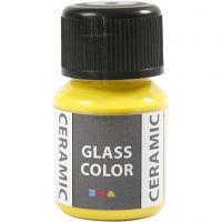 Glass Ceramic, lemon yellow, 35 ml/ 1 bottle