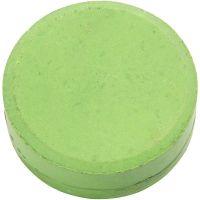 Watercolour, H: 16 mm, D: 44 mm, green, 6 pc/ 1 pack