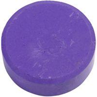 Watercolour, H: 16 mm, D: 44 mm, purple, 6 pc/ 1 pack