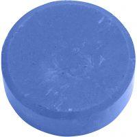 Watercolour, H: 19 mm, D: 57 mm, blue, 6 pc/ 1 pack