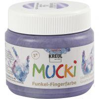 Finger Paint, metallic lilac, 150 ml/ 1 tub