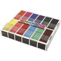 Colortime Marker, line 2 mm, assorted colours, 12x24 pc/ 1 pack