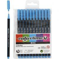 Colortime Fineliner, line 0,6-0,7 mm, light blue, 12 pc/ 1 pack