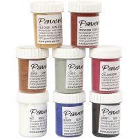 Pavercolor, 8x40 ml/ 1 pack