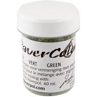 Pavercolor, green, 40 ml/ 1 bottle
