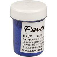 Pavercolor, blue, 40 ml/ 1 bottle