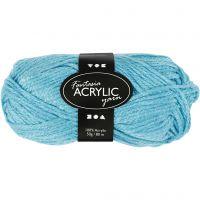 Fantasia Acrylic Yarn, L: 80 m, turquoise, 50 g/ 1 ball