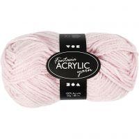 Fantasia Acrylic Yarn, L: 80 m, light red, 50 g/ 1 ball