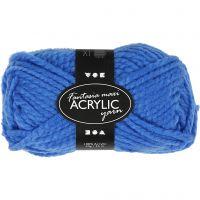 Fantasia Acrylic Yarn, L: 35 m, size maxi , blue, 50 g/ 1 ball