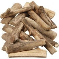 Wood Mix, L: 6-14 cm, thickness 15 mm, 610 g/ 1 pack