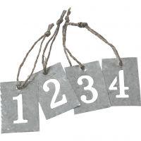 Advent figures, 4 pc/ 1 set