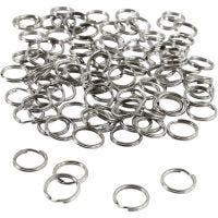 Key Chain, D: 12 mm, 100 pc/ 1 pack
