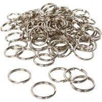 Key Chain, D: 25 mm, 100 pc/ 1 pack