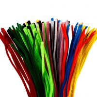 Pipe Cleaners, L: 45 cm, thickness 6 mm, assorted colours, 200 asstd./ 1 pack