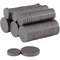 Magnets, D: 14+20 mm, thickness 3 mm, 2x250 pc/ 1 pack