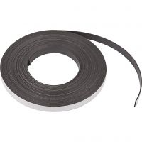 Magnetic Strip, W: 12,5 mm, thickness 1,5 mm, 10 m/ 1 pack