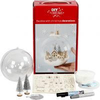 Kit for bauble with inner decoration, 1 pc