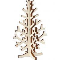 Christmas Tree, H: 12 cm, W: 7,5 cm, 1 pc