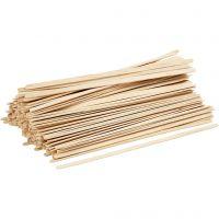 Ice Lolly Sticks, L: 19 cm, W: 6 mm, 200 pc/ 1 pack
