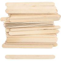Ice Lolly Sticks, L: 11,5 cm, W: 10 mm, 30 pc/ 1 pack