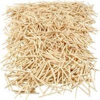 Matchsticks, L: 48 mm, D: 2 mm, 100 g/ 1 pack, 850 pc
