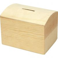 Money Box, size 10x8x7 cm, 1 pc