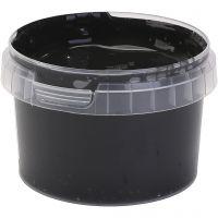 PRIMO finger paint, black, 250 ml/ 1 bottle